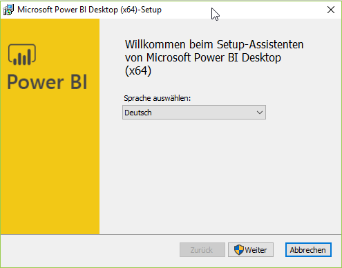 Power BI Desktop Single Installer