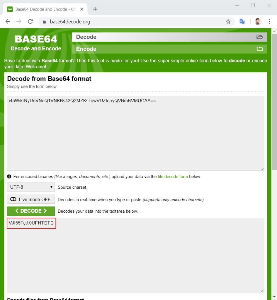 Decode Base64