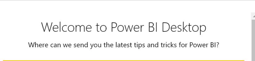 Power BI Desktop Anmeldeformular deaktivieren