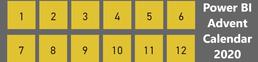 Power BI Adventskalender