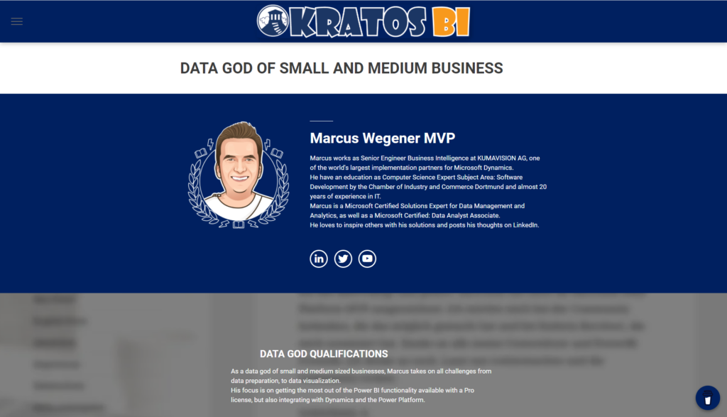 Data God of Smal and Medium Business